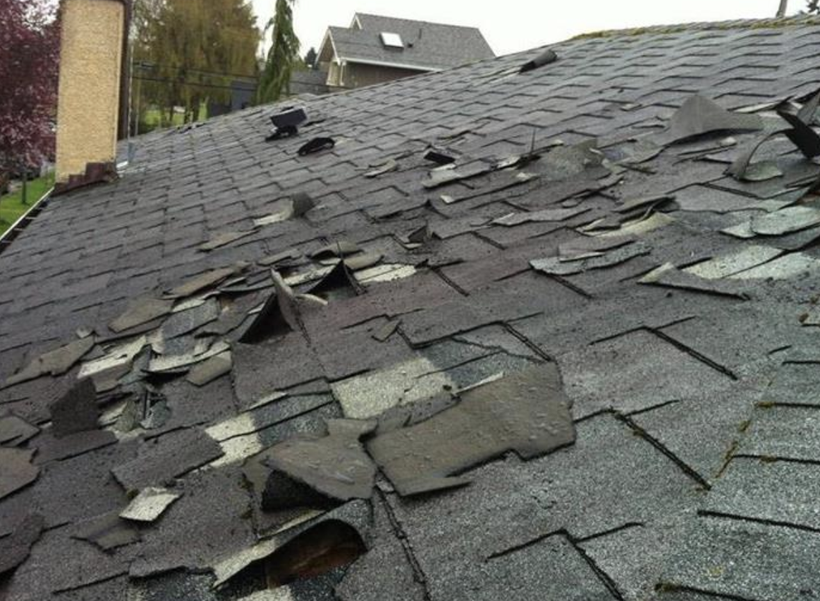 Should your insurance company replace or repair part of your roof?
