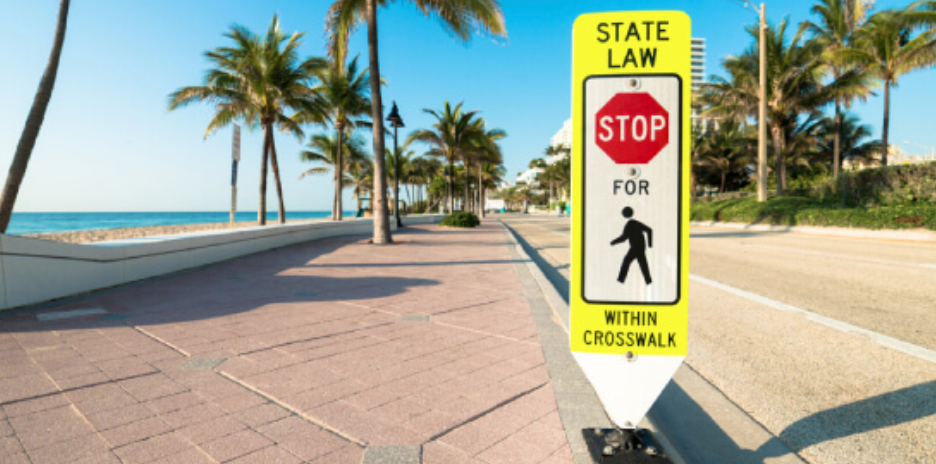 Florida Is The Nation's Deadliest State For Pedestrians